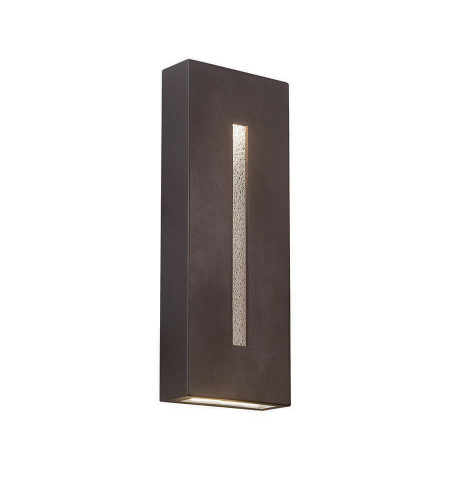 WAC Lighting WS-W5318-BZ Tao LED dweLED LED Outdoor Sconce in Bronze