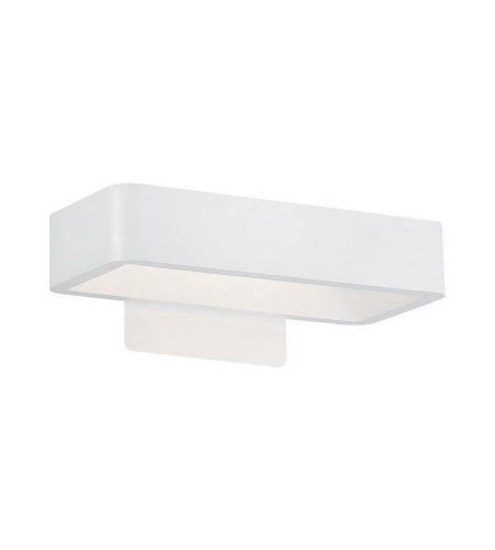 WAC Lighting WS-W5812-WT Janus LED dweLED LED Outdoor Sconce in White