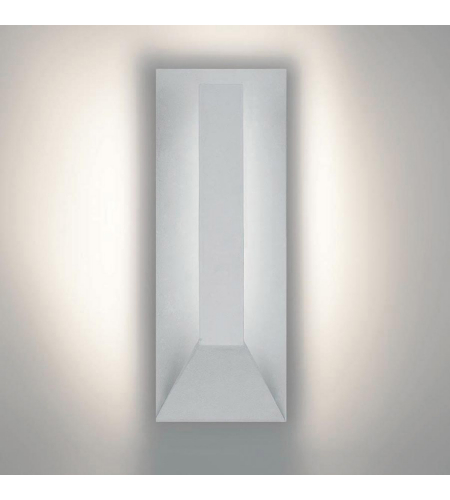 WAC Lighting WS-W5915-WT Uno LED dweLED LED Outdoor Wall Light in White