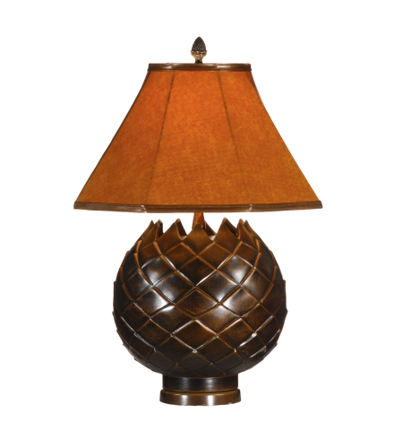 Wildwood Lamps 13007 Wildwood Petals Lamp in Bronze