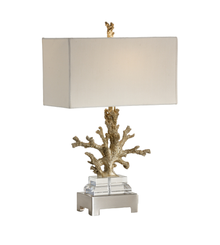 Wildwood Lamps 13125 Coastal Coral Colony Lamp in Champagne