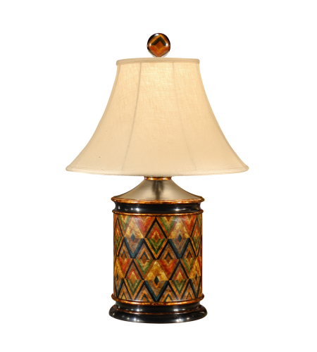 Wildwood Lamps 16068 High Country Hensen Lamp in Hand Painted