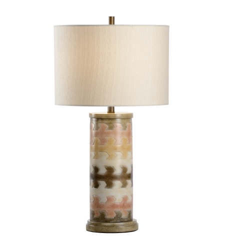 Wildwood Lamps 16141 Traditions Made Modern® Maze Lamp In Hand Colored