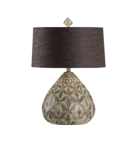 Wildwood Lamps 16155 Traditions Made Modern® Akimel Lamp In Relief Carved