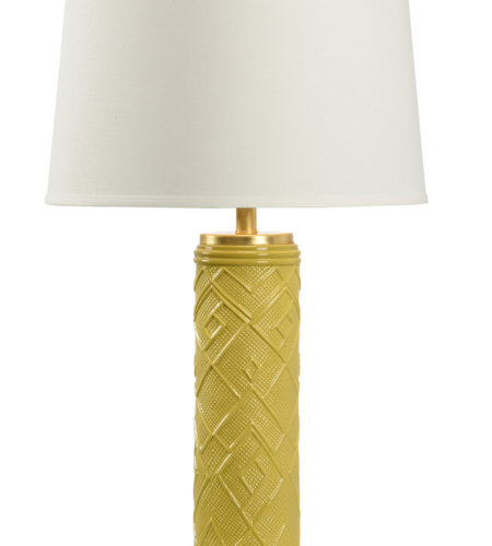 Wildwood Lamps 16159 Traditions Made Modern® Kuba Lamp - Mustard In Mustard