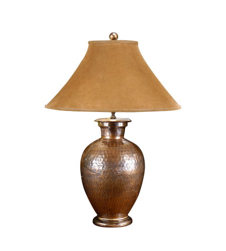 Wildwood Lamps 21087 High Country Antique Copper Lamp in Hand Hammered