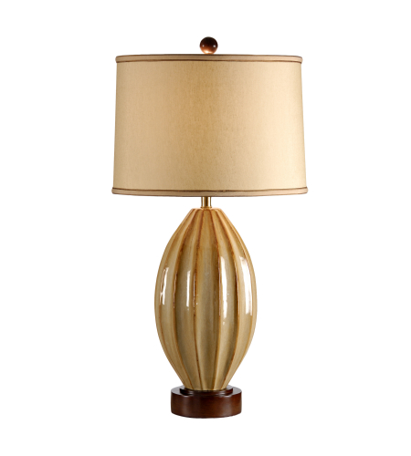 Wildwood Lamps 21233 High Country Tatum Lamp in Aged Tan Glaze
