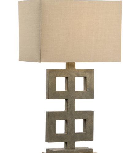 Wildwood Lamps 21758 Bob Timberlake Ross Lamp - Concrete in Concrete