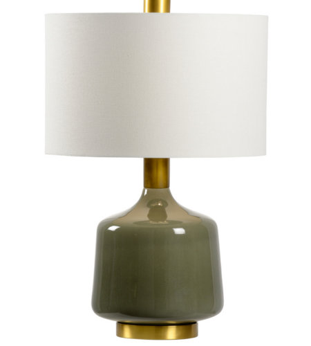 Wildwood Lamps 21759 Bob Timberlake Tremont Lamp - Olive in Olive Glaze