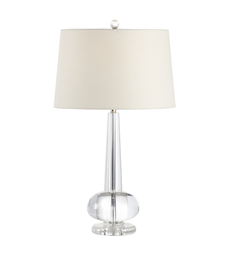 Wildwood Lamps 22157 Transitional Abbey Lamp In Clear