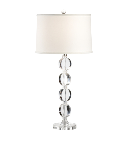 Wildwood Lamps 22245 Transitional Arden Lamp In Clear