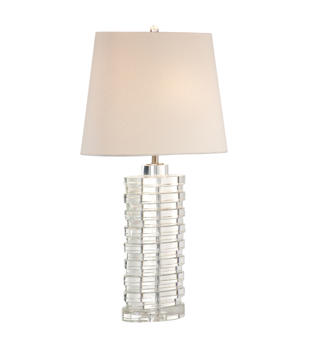 Wildwood Lamps 22291 Transitional Barnett Lamp In Clear