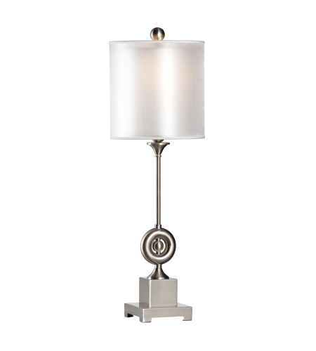 Wildwood Lamps 22397 Transitional Othia Lamp-Nickel In Brushed Nickel