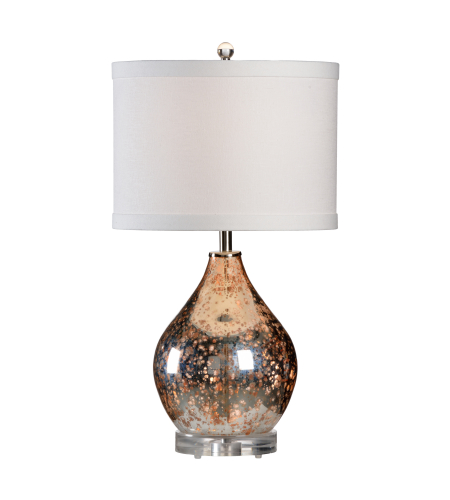 Wildwood Lamps 22398 Transitional Edistow Lamp In Mercury