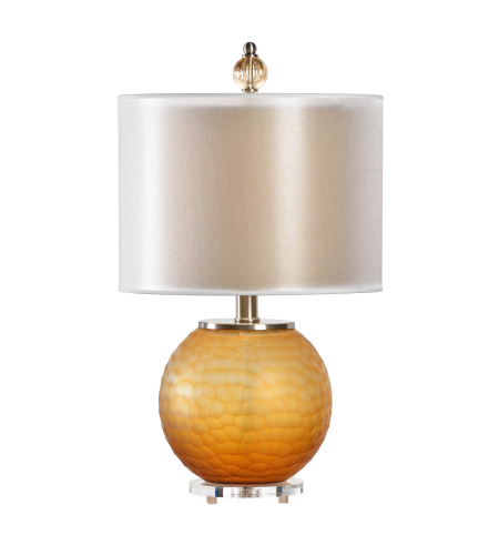 Wildwood Lamps 22405 Transitional Aerin Lamp In Amber