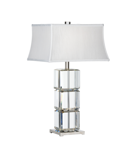 Wildwood Lamps 22415 Transitional Cubic Lamp In Clear