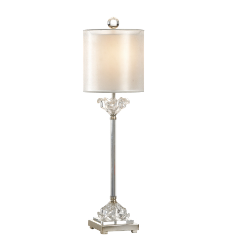 Wildwood Lamps 22428 Transitional Celine Lamp In Brushed