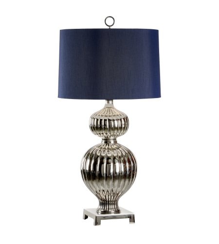 Wildwood Lamps 22445 Polished Nickel Brass 1 Light Abella Lamp