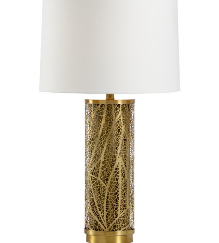 Wildwood Lamps 22466 Transitional Congo Lamp In Antique Brass