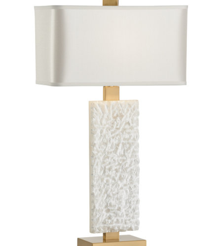 Wildwood Lamps 22474 Transitional Rushmore Lamp In White