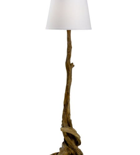 Wildwood Lamps 23379 Biltmore Olmstead Floor Lamp - Oak in Oakwood