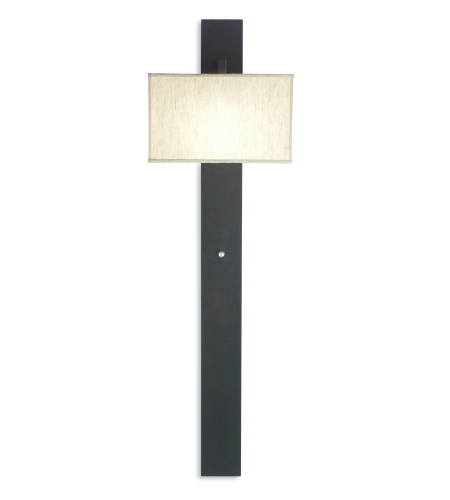 Wildwood Lamps 25029 Light Flat Wall Sconce Black
