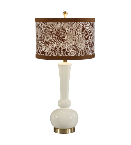 Wildwood Lamps 26019-2 Solid Brass Mounting Designer Color On Composite Body 1 Light Astrid Lamp