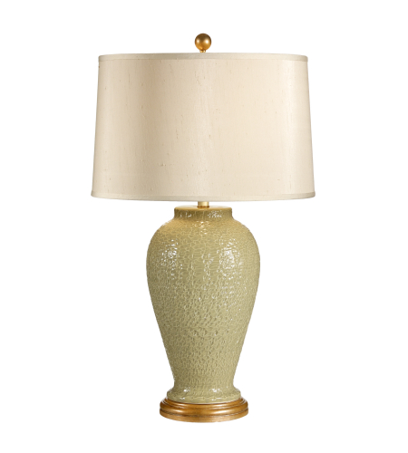 Wildwood Lamps 27519 Tuscan Ceramic Hand Textured 1 Light Urbano Lamp