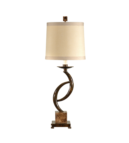 Wildwood Lamps 46624 MarketPlace Barron Lamp in Oxidized
