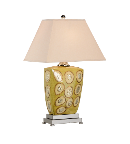 Wildwood Lamps 46627 MarketPlace Oyster Lamp in Celadon