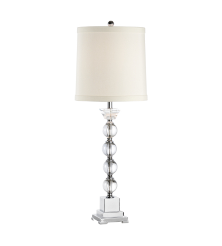Wildwood Lamps 46654 MarketPlace Alexis Lamp in Clear