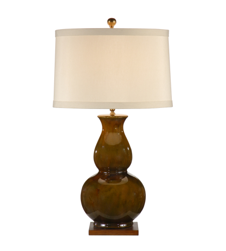 Wildwood Lamps 46761 Wildwood Gourd Lamp in Earthtones