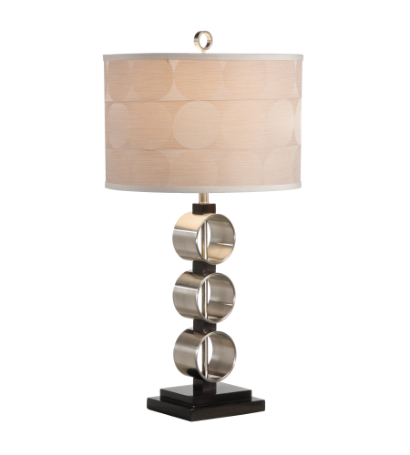 Shop for wildwood lamps 15679 tommy bahama hibiscus cylinder lap wildwood lamps 46878 wildwood substantial rings lamp in brushed nickel aloadofball Choice Image