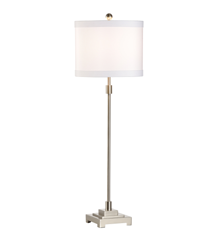 Wildwood Lamps 46932 MarketPlace Bailey Lamp-Nickel in Brushed Nickel