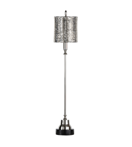 Wildwood Lamps 46944 MarketPlace Milo Lamp-Nickel in Polished