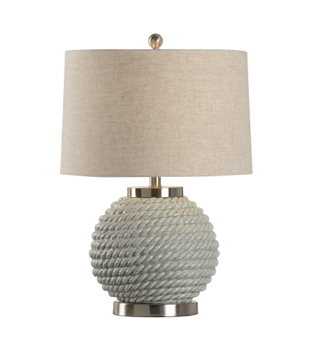 Wildwood Lamps 46981 MarketPlace Marina Lamp - Sage in Sage Green Glaze