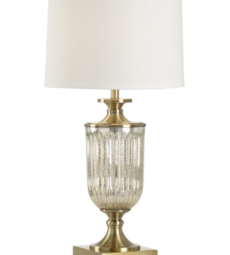Wildwood Lamps 47034 MarketPlace Ashwin Lamp in Mercury