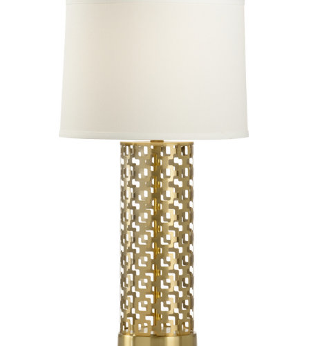 Wildwood Lamps 47036 MarketPlace Deena Lamp in Brass