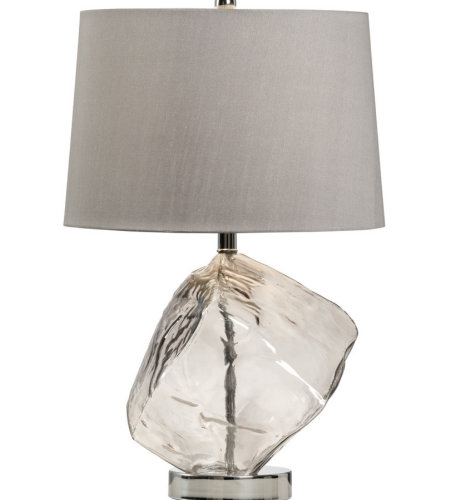 Wildwood Lamps 47038 MarketPlace Ice Lamp in Smoke