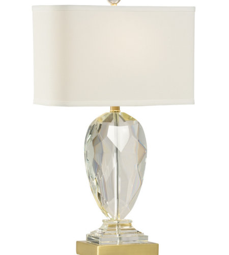 Wildwood Lamps 47046 MarketPlace Christal Lamp in Clear