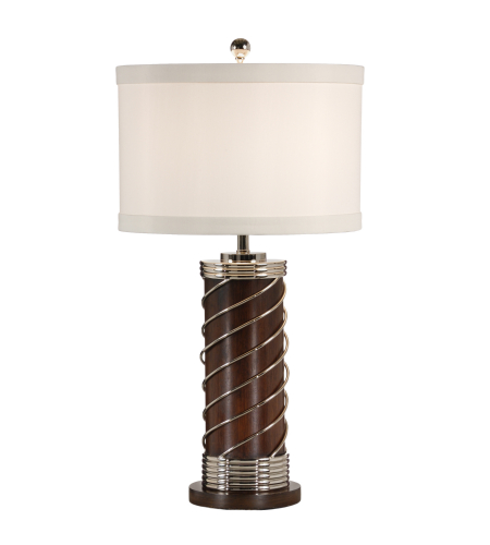 Shop for wildwood lamps 15679 tommy bahama hibiscus cylinder lap wildwood lamps 60233 wildwood wrapped cylinder lamp in dark walnut aloadofball Choice Image