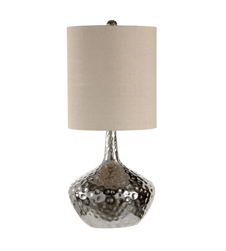 Wildwood Lamps 60359 Dimpled/Nickel Iron 1 Light Kathleen Lamp