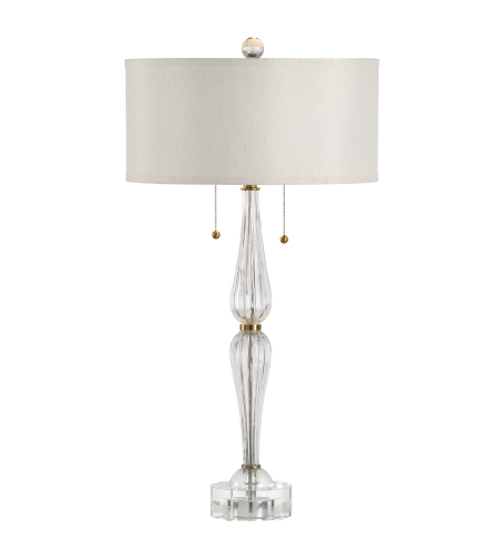 Wildwood Lamps 60467 Wildwood Naomi Lamp in Clear