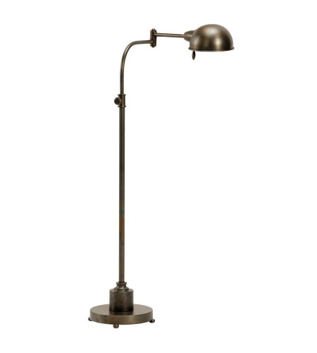 Wildwood Lamps 60549 Transitional Swing Arm Floor Lamp In Bronze