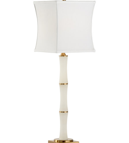 Wildwood Lamps 60647 Wildwood Sloane Lamp in White