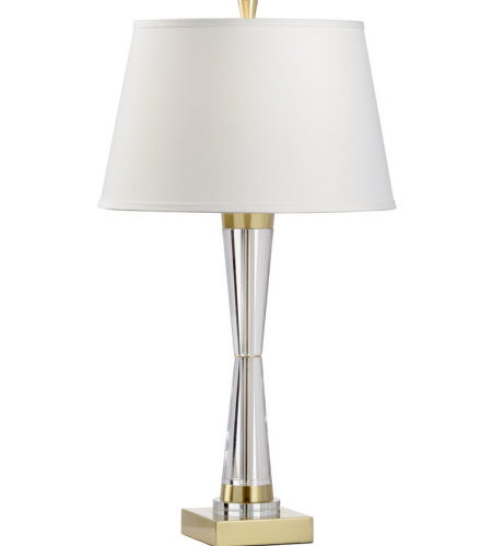 Wildwood Lamps 60696 Wildwood Hadley Lamp in Clear