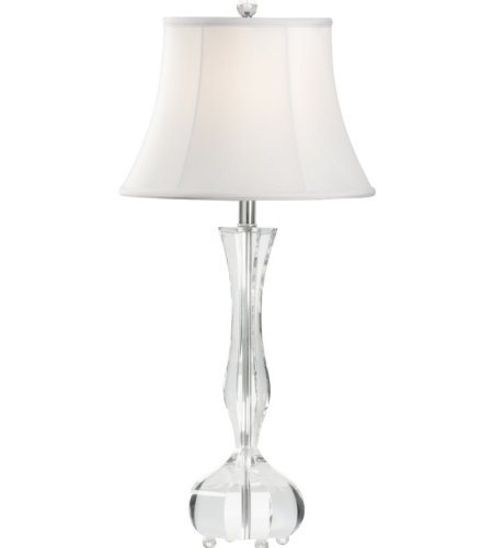 Wildwood Lamps 60833 Wildwood Charlotte Lamp in Clear