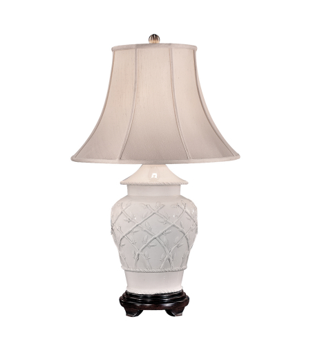 Wildwood Lamps 620 Wildwood China Today Lamp In White Glaze