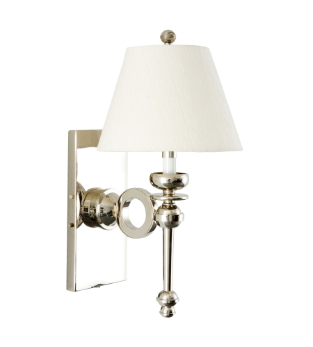 Wildwood Lamps 65199 Frederick Cooper Modern Sconce-Nickel in Polished