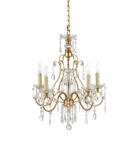 wildwood lamps 67021 wildwood gold crystal chandelier in gold leaf